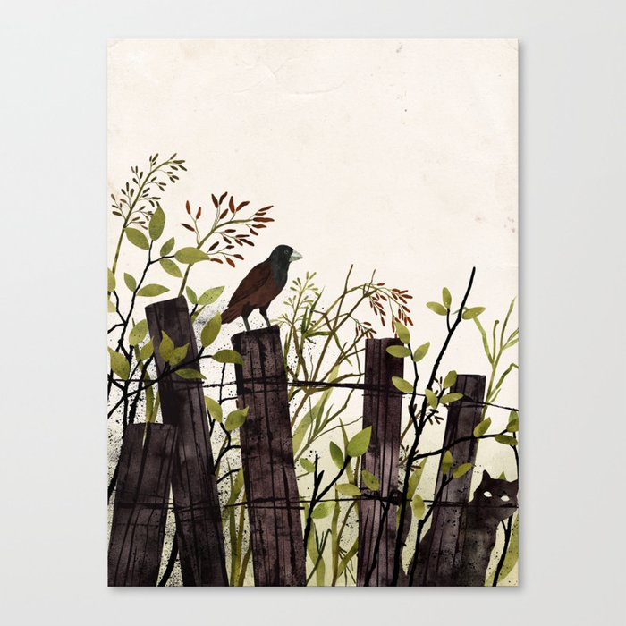 Art of Bird Watching Canvas Print