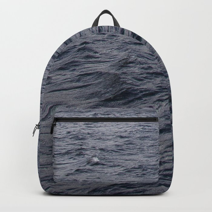 Wild waves in Loch Ness Backpack