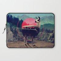 lol Laptop Sleeves featuring Llama by Ali GULEC