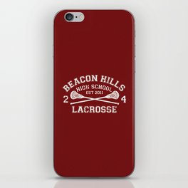 Beacon Hills Lacrosse iPhone Skin