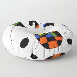 Joan Miro Floor Pillow