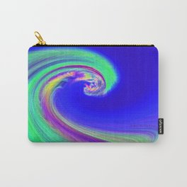 """Angry Ocean"" Photograph Carry-All Pouch"