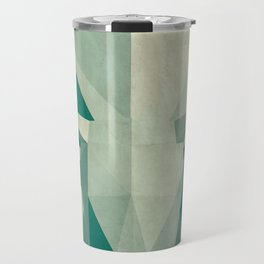 Picasso style abstract cow Travel Mug