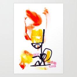 Mr 101 Art Print