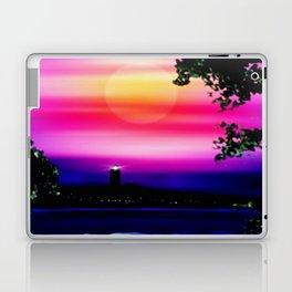 Evening sun on the coast. Laptop & iPad Skin