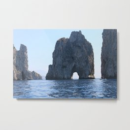 Capri Arch Of Love Metal Print