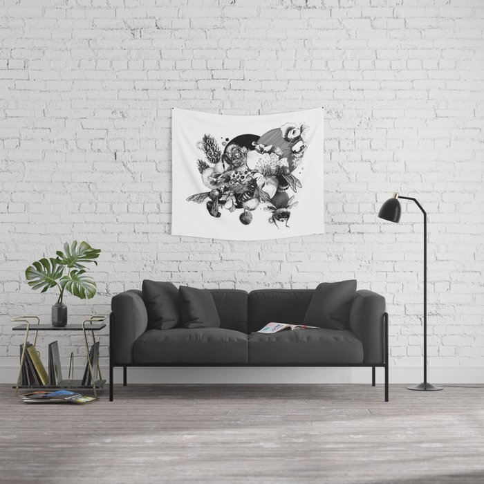 Busy Bee's Wall Tapestry
