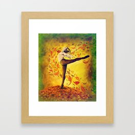 Autumnal Spirit by Mary Bottom Framed Art Print