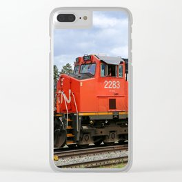 Canadian National Railway Clear iPhone Case