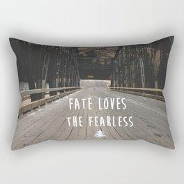 Fate Love the Fearless Rectangular Pillow