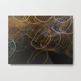 Illusions of light Metal Print