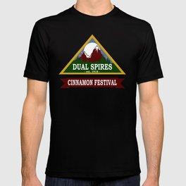 Psych - Dual Spires Cinnamon Festival T-shirt