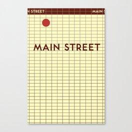 MAIN STREET | Subway Station Canvas Print