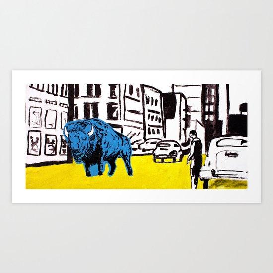 """American Buffalo"" Art Print"