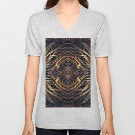 Geometric Roots Unisex V-Neck