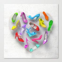 Juicy Shoes Canvas Print