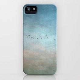 Toward The Sunset iPhone Case