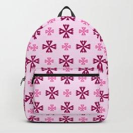 geometric flower 93 pink Backpack