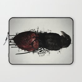 Raven and Heart Grenade Laptop Sleeve