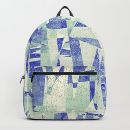crooked quilt Backpack