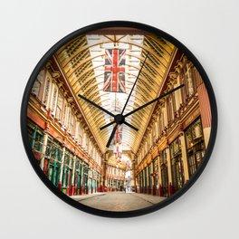 Leadenhall Market, London Wall Clock