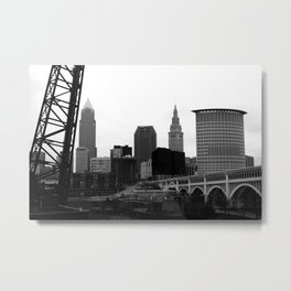 Cleveland, Ohio Metal Print