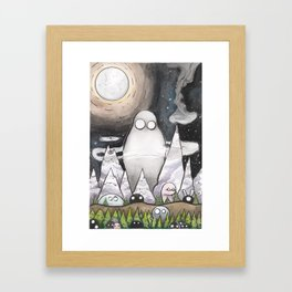 Friendly Forest Spirits Framed Art Print
