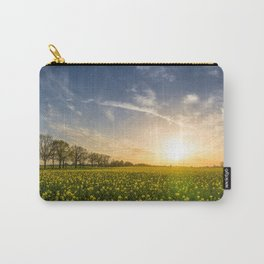 Rapeseed Sunset Carry-All Pouch