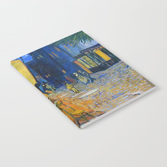 Vincent Van Gogh - Cafe Terrace at Night by endoferadesigns