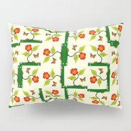 Plants and flowers Pillow Sham