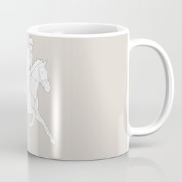 Eventing in brown Coffee Mug
