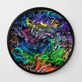 Magic Colors B Wall Clock