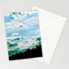 sky of clouds  Stationery Cards