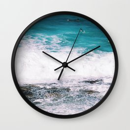 Waiting On the Wave Wall Clock