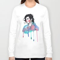 matty healy Long Sleeve T-shirts featuring Matty by The vintage icon