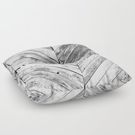 Vintage wood pattern Floor Pillow
