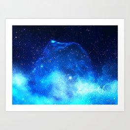 Jelly Nebula Art Print