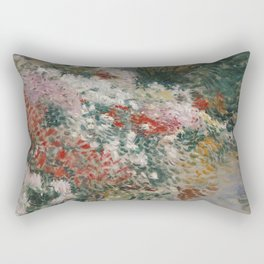 Dennis Miller Bunker - In The Greenhouse Rectangular Pillow