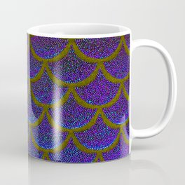 Dandelion Denim Scales Coffee Mug