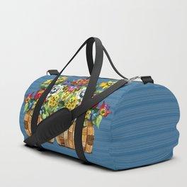 A Basket of Flowers Duffle Bag
