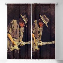Stevie Ray Vaughan, Music Legend Blackout Curtain