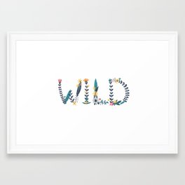 Wild type Framed Art Print