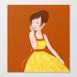 Happy Life Canvas Print