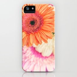Sweet Daisy Sorbet iPhone Case