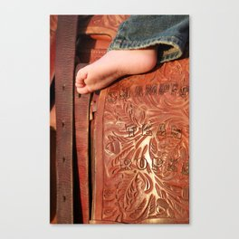 Big Boots To Fill Canvas Print