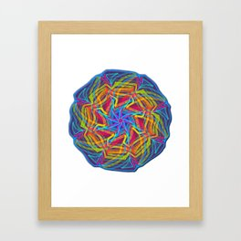 Planet energy Framed Art Print
