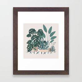 houseplant gang Framed Art Print