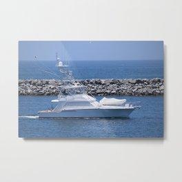 Classic Fishing Boat Metal Print