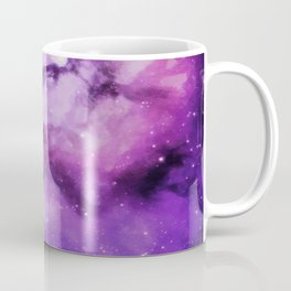 Mystical Purple Nebula Galaxy Coffee Mug