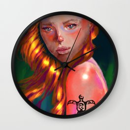 Nosey Wall Clock